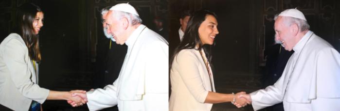 Astronomas Papa Francisco Horizontal